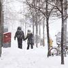 Sunday snowstorm