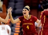 Johnson leads Iowa State women in upset of No. 6 Texas-Image1