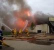 Foo Mart burns