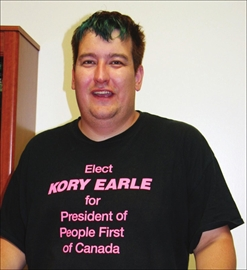 Kory Earle runs for presidency of People First of Canada; announces pl– Image 1