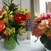 Flower arrangements and houseplants are good for your health