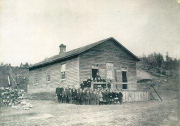 Glenville School, 1881