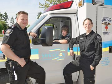 Wyevale student put to the test as paramedic for a day