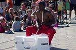 Buskers fill weekend in Wasaga Beach with street entertainment