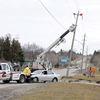 Car Hits Pole