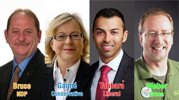 Kitchener South-Hespeler candidates