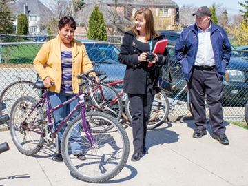 St. Alban's gives farm workers gift of mobility
