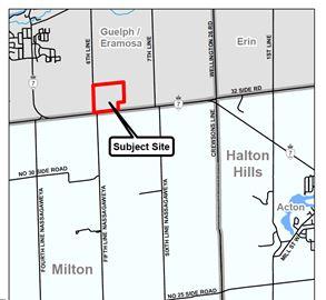 Hidden Quarry on the border of Milton and Halton Hills