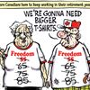 Today's cartoon: Freedom numbers