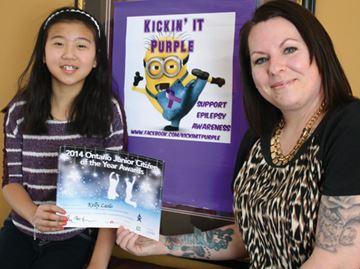 Junior Citizen nominee showed 'bravery and determination'