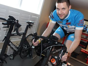 Physiotherapist puts pedal power into fight against cancer