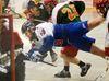 Saint Lacrosse Action in Newmarket