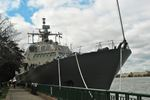 USS Detroit docks in Windsor