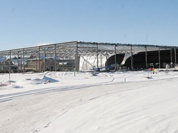 Canadian Tire construction well underway in Innisfil
