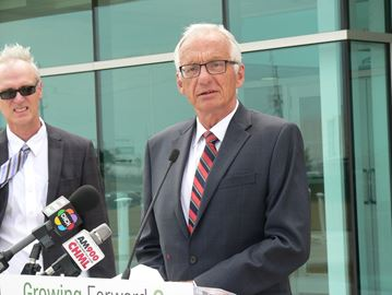 Hamilton East-Stoney Creek Liberal MP Bob Bratina