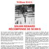 William Hall - $50,000 Reward