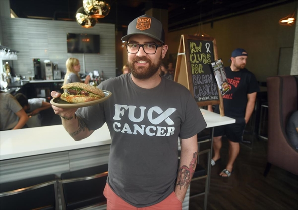 FU CANCER: Kitchener chef fighting brain cancer leads fundraiser