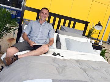 Sleeping on the job at Ikea Burlington