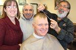 Wasaga barber shop cuts for a cause