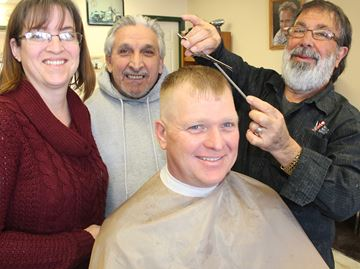 Wasaga barber shop cuts for a cause