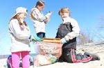 Wasaga students take part in shoreline cleanup