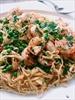 Fresh Linguine with Shrimp and Peas