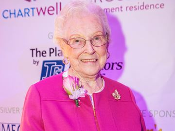 Flamborough's Flo Binkley recognized for 50 years of volunteer service at Jo Brant
