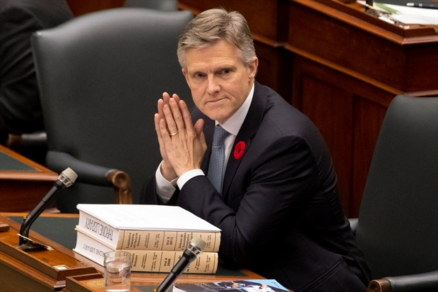 Ontario's new finance minister charts a course much different than his predecessor