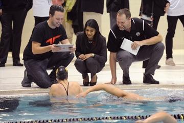 Swim Training Device Makes Big Splash