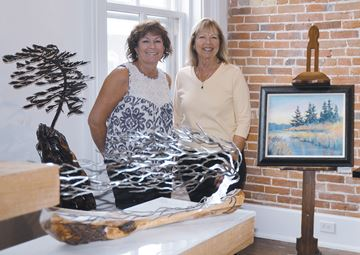 Through Our Eyes exhibit highlights landscape art in different styles