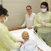 Penetanguishene Secondary School students learn medical skills in makeshift hospital setting