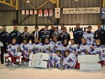 Bantam A Rangers claim West Mall tourney gold