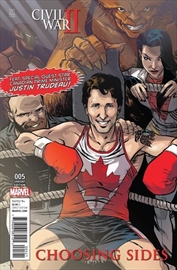 Trudeau debuts as Marvel Comics cover star-Image1