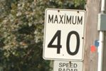 Oakville residential speed limits slowing down to 40 km/h