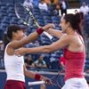 Carol Zhao and Gaby Dabrowski