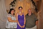 Here, Sandra Bolton, far left, with her husband and goddaughter prior to her bariatric surgery
