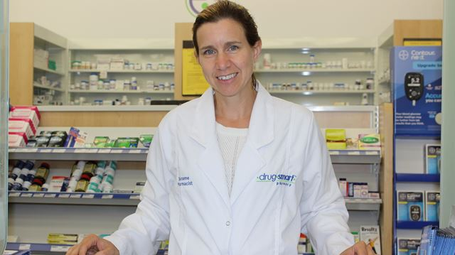 DrugSmart Pharmacy owner and pharmacist Suzanne Kerr