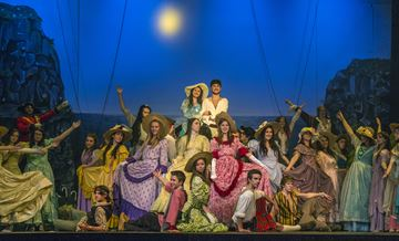 The cast of Pirates of Penzance