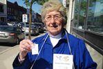 Alliston hospital auxiliary holding tag day fundraiser