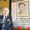 War vet Joe McCarroll called Alliston home for nearly a century