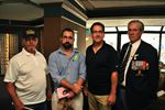 Brian Masse with local veterans