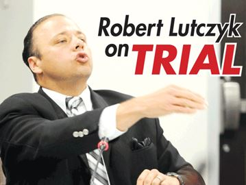Robert Lutczyk on trial