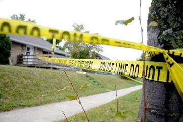 Margaret Avenue crime scene