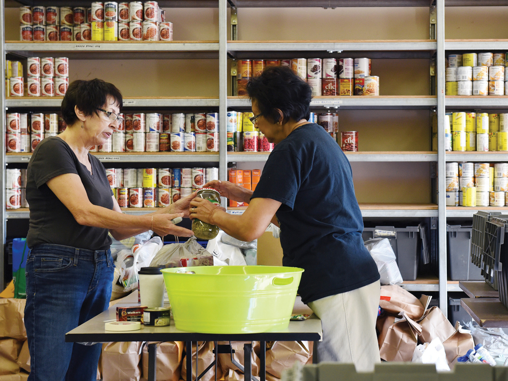 St Paul S Community Food Bank Pickering On