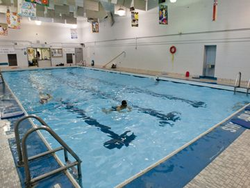 Harrison pool for Community center toronto swimming pool