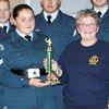 Parade honours for Midland air cadet band