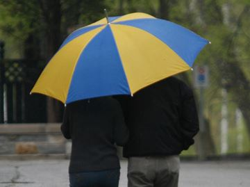 Showers, isolated thunderstorms expected to bring 30-40 mm of rain Tuesday night