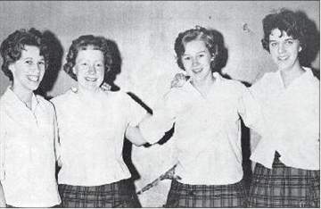 ADHS had many excellent female athletes in early 1960s– Image 1