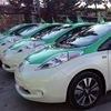 Nissan and Taxelco launch of Canada's first all-electric taxi service