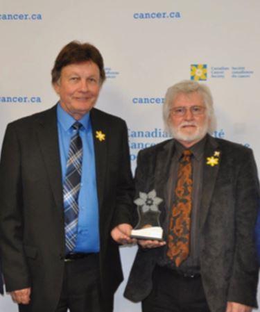 Canadian Cancer Society award